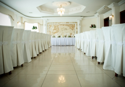 Wiosenny wystrój sali weselnej